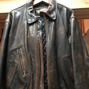 Mens Authentic Harley Davidson Leather Jacket